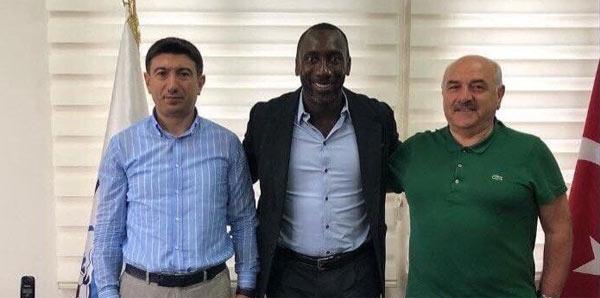 Jimmy Floyd Hasselbaink Erzurumspor'da