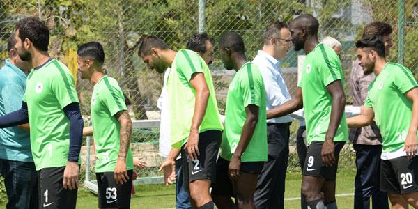 Atiker Konyaspor'da Bursaspor mesaisi