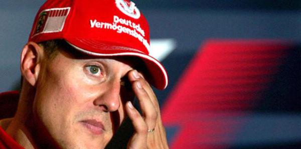 'Schumacher dağları ve gölü görünce ağlıyor'