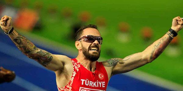 Ramil Guliyev gümüş madalya kazandı!