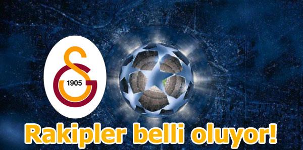 Galatasaray'ın rakipleri belli oldu! Şampiyonlar Ligi kura çekimi!