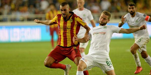 Atiker Konyaspor - Evkur Yeni Malatyaspor: 1-0