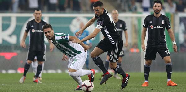 Bursaspor 1-1 Beşiktaş (İşte maçın özeti)