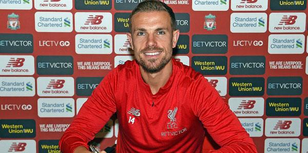 Liverpool, Henderson'ın sözleşmesini uzattı!