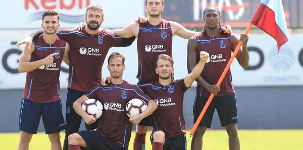 Trabzonspor dayanıklılık çalıştı