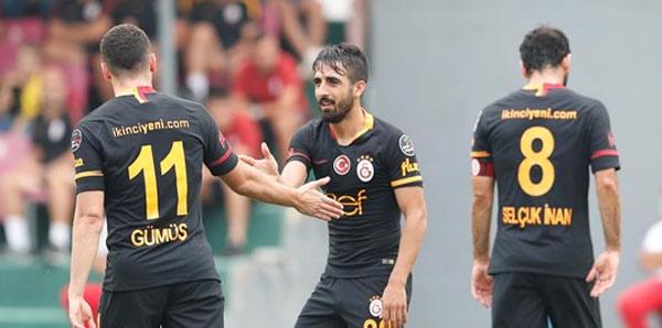 Galatasaray, İstanbulspor'u Muğdat'ın golleriyle yendi