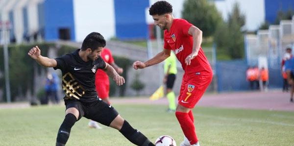 Kayserispor - Osmanlıspor: 1-1