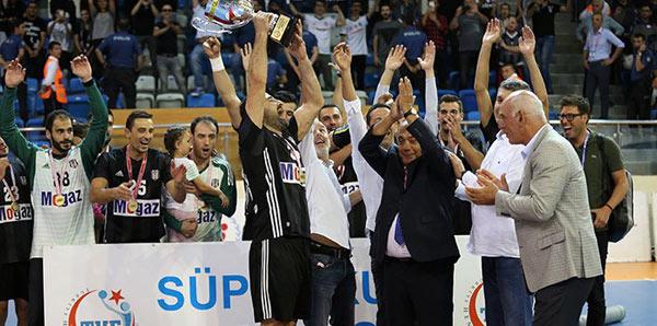 Olaylı finali Beşiktaş Mogaz kazandı!