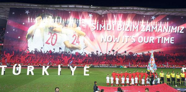 Trabzon'da EURO 2024 mesajı
