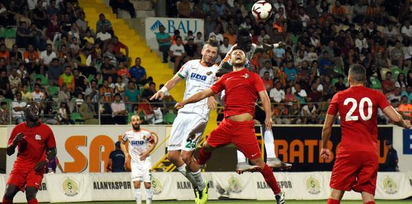 Aytemiz Alanyaspor - Antalyaspor: 1-1
