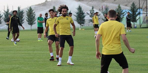 Malatyaspor'da Donald ve Murat Yıldırım as takımda