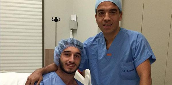 Beşiktaş'ın genç oyuncusu Mertcan Açıkgöz ameliyat edildi