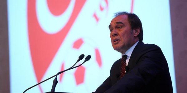 Karşıyaka'da yönetim, TFF Başkanı Demirören'le görüştü