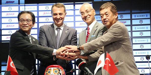 Beşiktaş, Mainichi Sponichi Group'la anlaşmasını resmen duyurdu