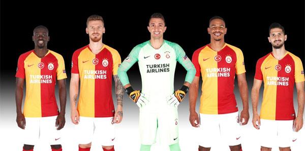 Galatasaray'ın Avrupa maçlarındaki sponsoru THY oldu