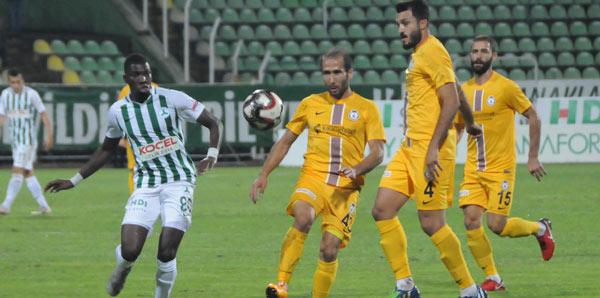 Giresunspor - Afjet Afyonspor: 0-1