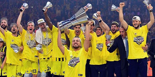 Fenerbahçe, THY Avrupa Ligi'nin en başarılı Türk takımı