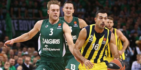 Zalgiris - Fenerbahçe: 75-82
