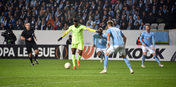Malmö FF - Sarpsborg 08 : 1-1