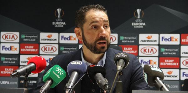 Pablo Machin: 'Hak ettiğimiz bir galibiyet aldık'