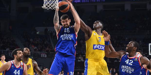 Anadolu Efes - Maccabi FOX: 90-77