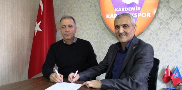 Karabükspor'da Taner Öcal dönemi resmen başladı