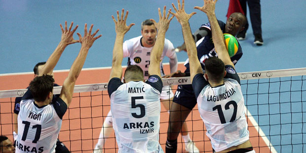 Arkas Spor - Tours VB: 0-3