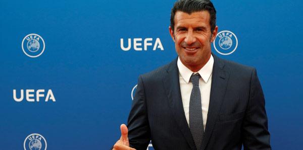 """Figo: """"Quaresma ve Pepe'nin burada olması büyük şans"""""""