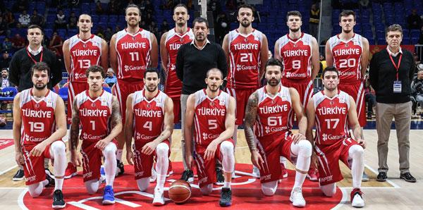 A Milli Erkek Basketbol Takımı, Dünya Kupası'nı garantiledi!