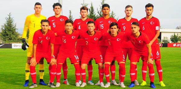 19 Yaş Altı Milli Futbol Takımı'nın rakipleri belirlendi