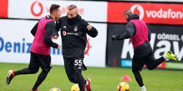 Beşiktaş, Aytemiz Alanyaspor maçı hazırlıklarını tamamladı