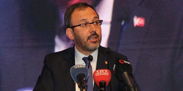 Gençlik ve Spor Bakanı Kasapoğlu: 2019 yılı 'Gönüllülük Yılı'