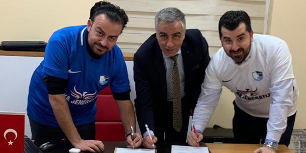 Erzurumspor'un yeni sponsoru Anka Jeneratör