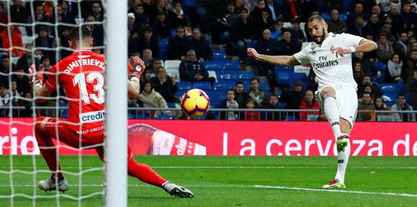 Real Madrid - Rayo Vallecano: 1-0