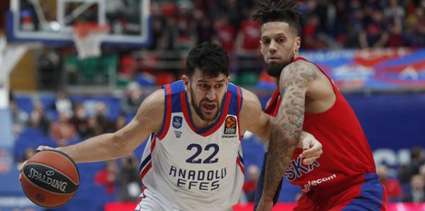 CSKA Moskova - Anadolu Efes: 102-84