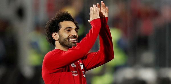 2018in Afrikalı futbolcusu Mohamed Salah