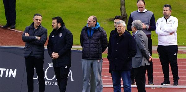 Lucescu Beşiktaş'ın kampında