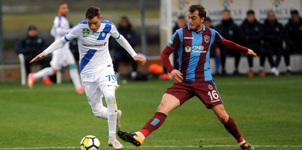 Trabzonspor - MTK Budapeşte: 0-2