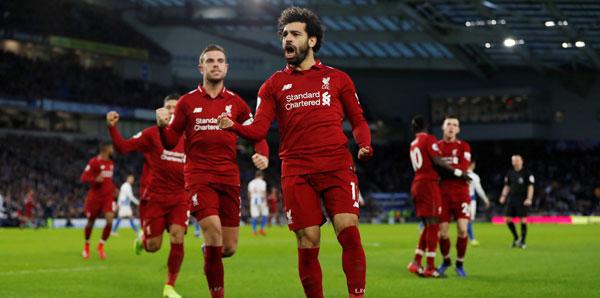 Brighton & Hove Albion - Liverpool: 0-1
