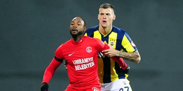 10 kişi kalan Fenerbahçe'ye Ümraniye şoku!