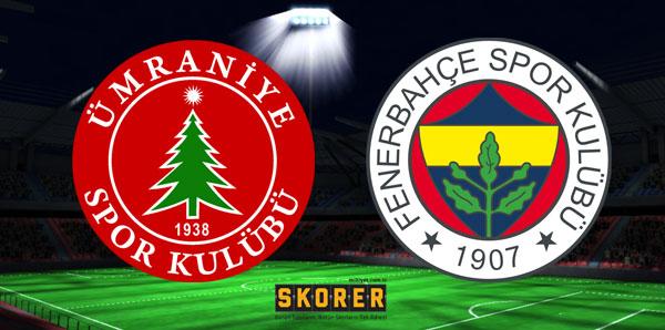 Ümraniyespor Fenerbahçe maçı saat kaçta, hangi kanalda?