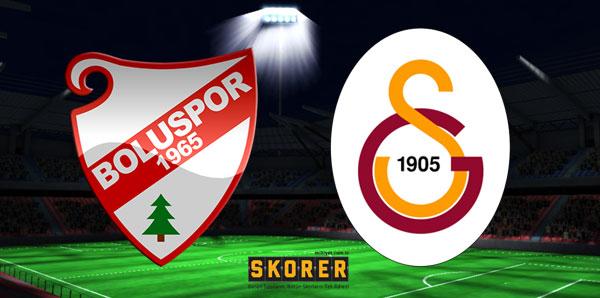 Boluspor-Galatasaray (CANLI)