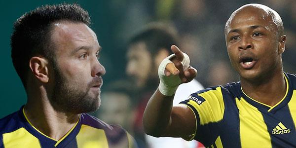 Fenerbahçe'de istenmeyen ikili: Valbuena & Ayew