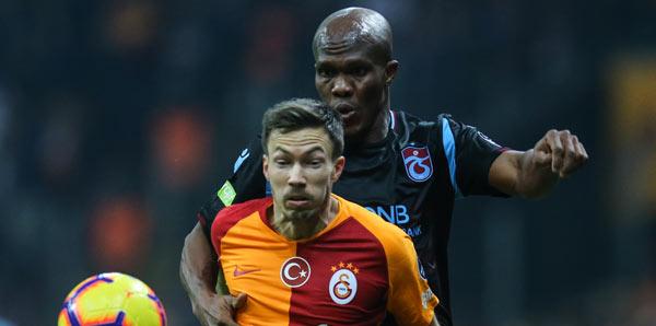 Galatasaray - Trabzonspor: 3-1 (İşte maçın özeti)