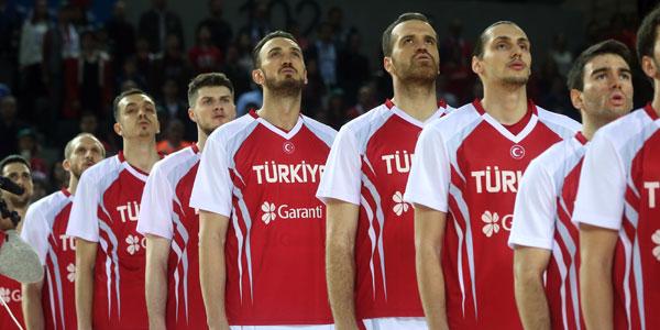 A Milli Erkek Basketbol Takımı'nın 14 kişilik kadrosu açıklandı