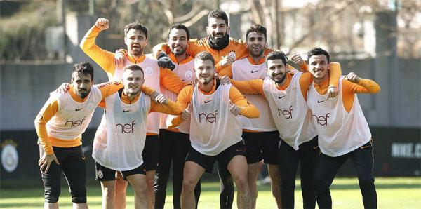 Galatasaray'da gözler Benfica maçına çevrildi