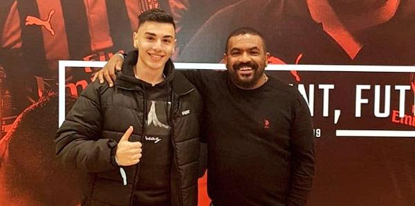 Genç Türk futbolcu Berke Kaplan Milan yolunda