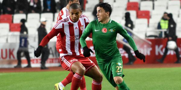 Sivasspor - Akhisarspor: 2-1