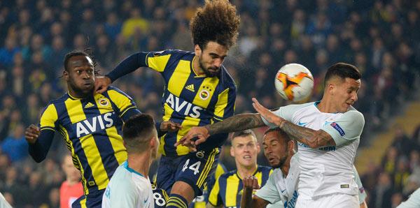Fenerbahçe Zenit: Sadık Çiftpınar: Zenit'e Nefes Aldırmadık