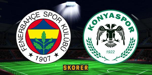 Fenerbahçe-Atiker Konyaspor (CANLI)